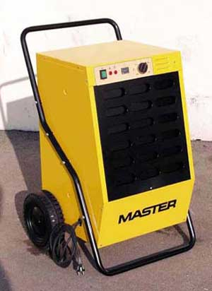Vysoušeče / odvlhčovače vzduchu MASTER